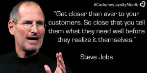 HOW TO BRAND BUSINESS WITH SOCIAL MEDIA- Steve Jobs Loyalty