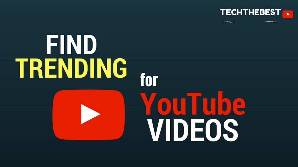find the trending videos in youtube